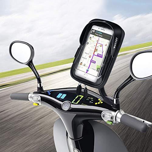 WACCET Motorrad Handyhalterung Wasserdicht Motorrad Halterung...