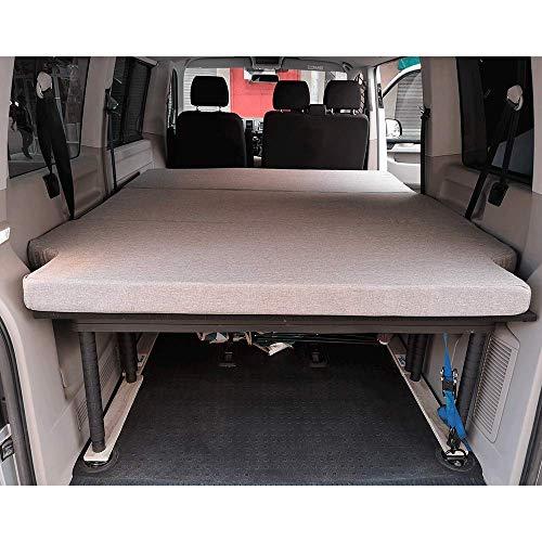 KFoam.es Faltbare Matratze für VW T5 T6 Multivan California Beach...