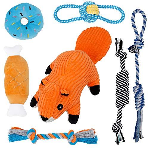 Toozey Welpenspielzeug Hunde Spielsachen - 7 Hundespielzeug Welpe...
