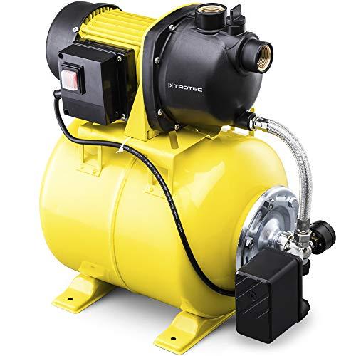 TROTEC Hauswasserwerk TGP 1025 E 3.300 l/h Förderleistung 1.000 Watt...