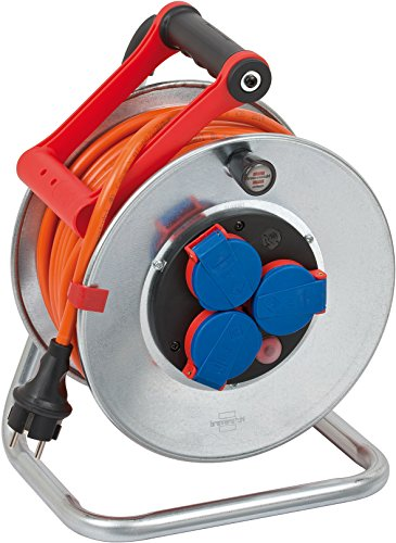 Brennenstuhl Garant S IP44 Kabeltrommel (25m Kabel in orange,...