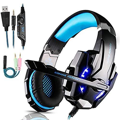 FUNINGEEK Gaming Headset für PS4 PC Xbox One, Professional Kopfhörer...