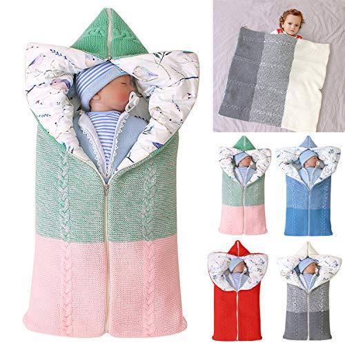Kinderwagen Decke, Neugeborenen Wickeldecke Winter warme Schlafsack...