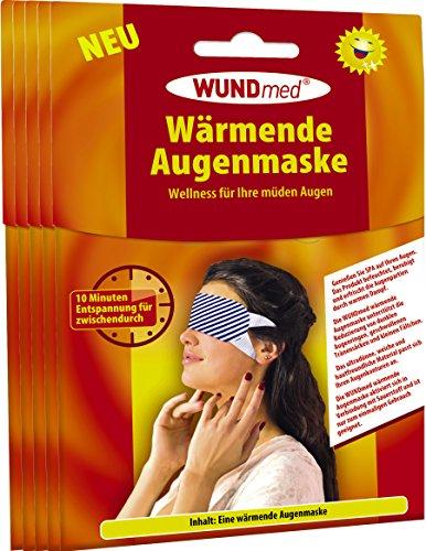 Wärmende Augenmaske | Augenpflege - Anti Falten, Tränensacke,...