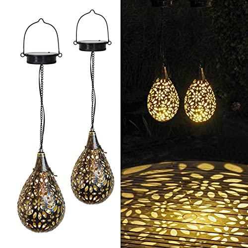 Gadgy Solarlampen Für Außen Hängend | 2 Stück | Orientalische...