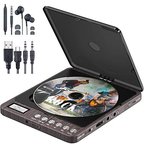 Tragbarer CD Player, Persönlicher Wiederaufladbar MP3 CD Player mit...