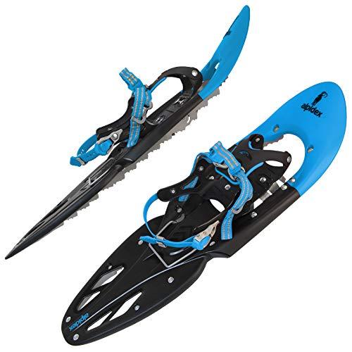 ALPIDEX Schneeschuhe 29 INCH Schuhgröße 38-46 bis 140 kg Steighilfe...