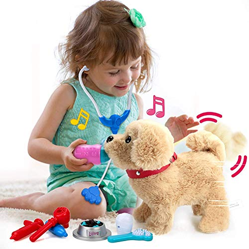 Kinder Mädchen Spielzeug und Plüschtier mit Liedern, Elektronische...