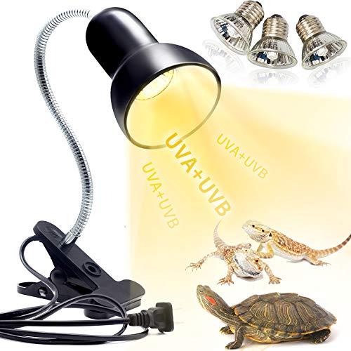 Schildkröten Wärmelampe Reptilien Terrarium Lampe, 25W 50W Reptilien...