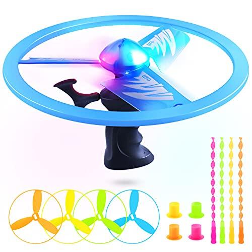 WisToyz LED Lichter Propellerspiel Power Spin und 4PCS Propellerspiel...