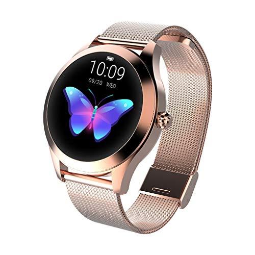 CUEYU Smart Watch KW10,Runder Touchscreen IP68 wasserdichte Smartwatch...