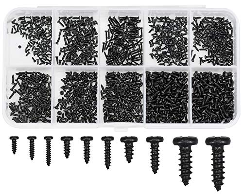 Winfred Micro-Schrauben 1000 Stück Kleine Schrauben Sortiment,...