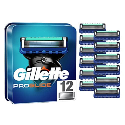 Gillette ProGlide Rasierklingen für Männer, 12 Stück, mit 5...