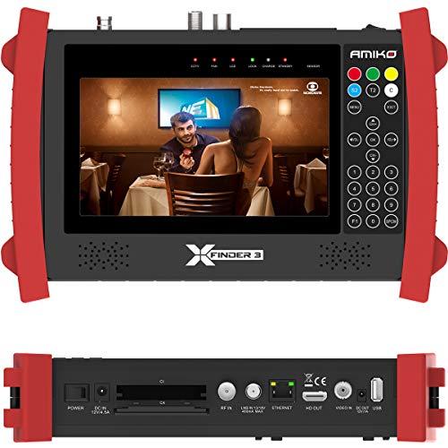 Amiko X-Finder 3 HD DVB-S/S2 + C/T/T2 Satfinder Sat Finder Messgerät...