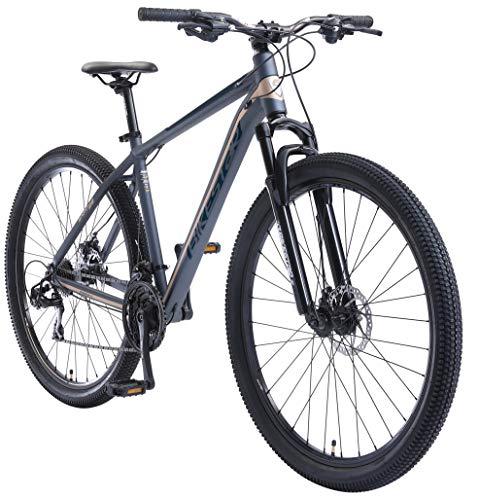 BIKESTAR Hardtail Aluminium Mountainbike Shimano 21 Gang Schaltung,...