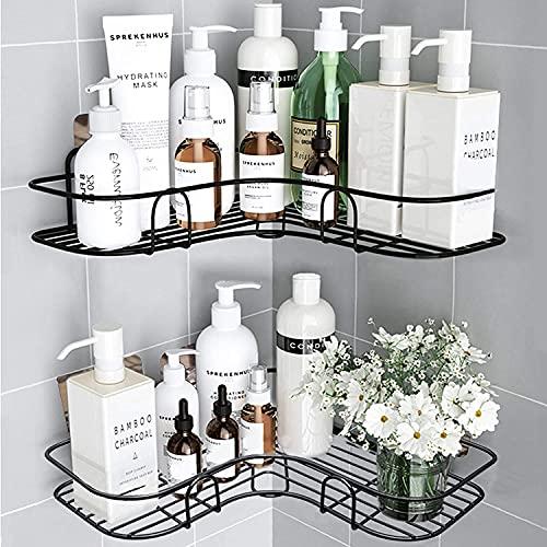 Huryfox 2er-Pack Ecke Dusch Regal für das Badezimmer - Regal,...