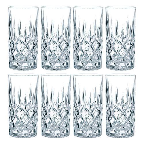 Nachtmann Noblesse Longdrinkglas Set, 8er Set, Wasserglas, Saftglas,...