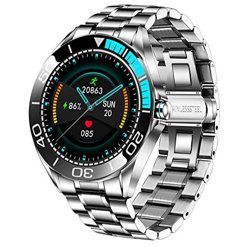 LIGE Herren Smart Watches, IP67 Wasserdichte Fitness Tracker Uhren mit...