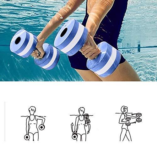 Mayyou Sport-Wasser-Übung Hanteln-Set von 2-Unisex Erwachsene Aqua...