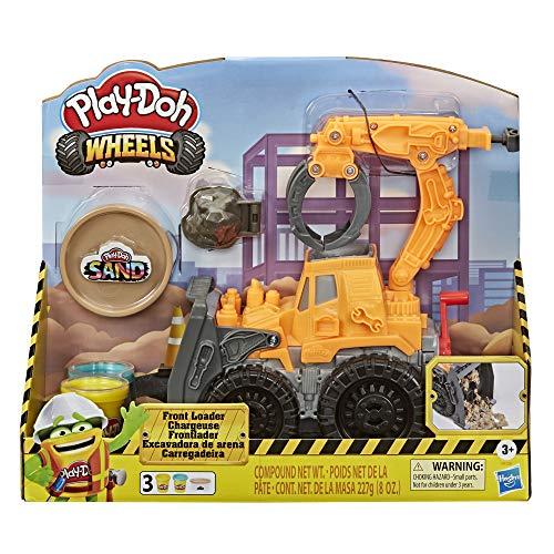 Play-Doh Wheels Frontlader Spielzeugtruck für Kinder ab 3 Jahren...