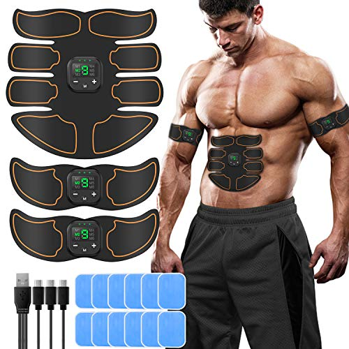 SUNGYIN EMS Muskelstimulator bauchtrainer ABS Trainingsgerät...