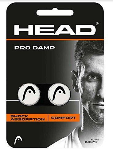 HEAD Unisex– Erwachsene Schlägerzubehör Pro Damp 2er Tennis...
