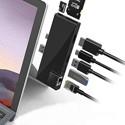 POWER TECHNOLOGIE - Hub Surface Pro 7 Hub USB 3.0 für Tablet...