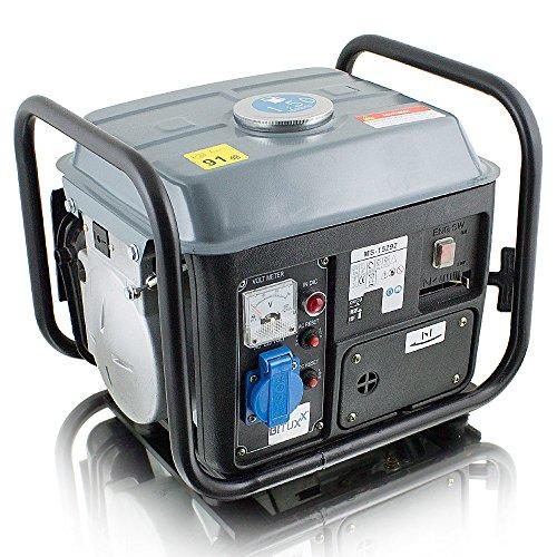 BITUXX® 850W Benzin Notstromaggregat Stromgenerator Stromerzeuger...