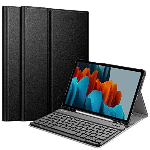 Fintie Tastatur Hülle für Samsung Galaxy Tab S7 11 Zoll 2020 SM-T870...