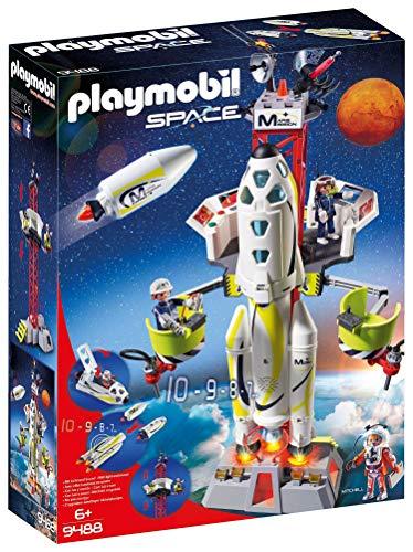 Playmobil SPACE 9488 Mars-Rakete mit Startrampe, Ab 6 Jahren [Exklusiv...
