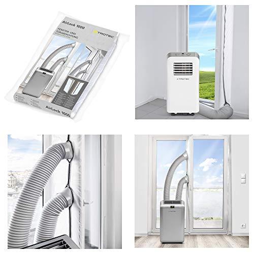TROTEC AirLock 1000 Hot Air Stop Tür- und Fensterabdichtung für...