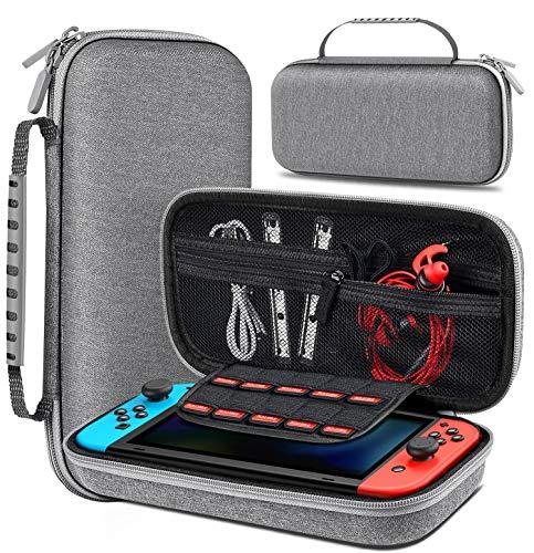 BEBONCOOL Tasche für Nintendo Switch, Switch Tasche mit Viel Platz...