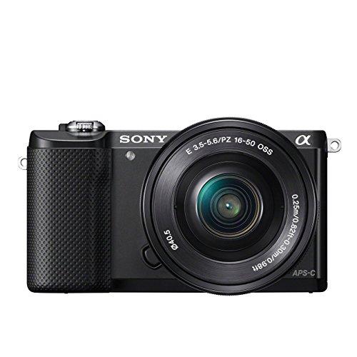 Sony Alpha 5000 Systemkamera (Full HD, 20 Megapixel, Exmor APS-C HD...