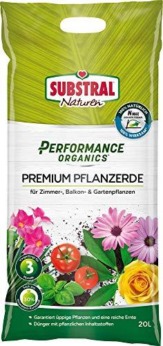Substral Performance Organics Pflanzerde Premium Blumenerde,...