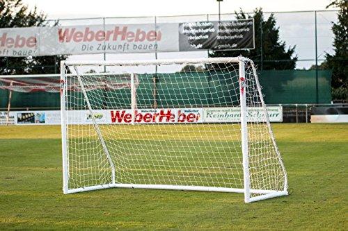 Fußballtor 2,4 x 1,8m 'PRO' von POWERSHOT® Super stabiles uPVC und...