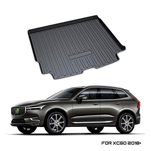 YEE PIN Kofferraummatte für Volvo XC60 SPA 2018-2019   Seitenschutz...