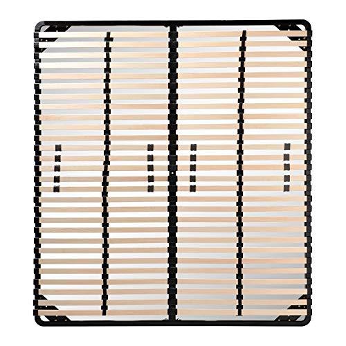 i-flair® Lattenrost 160x200 cm, Lattenrahmen für alle Matratzen...