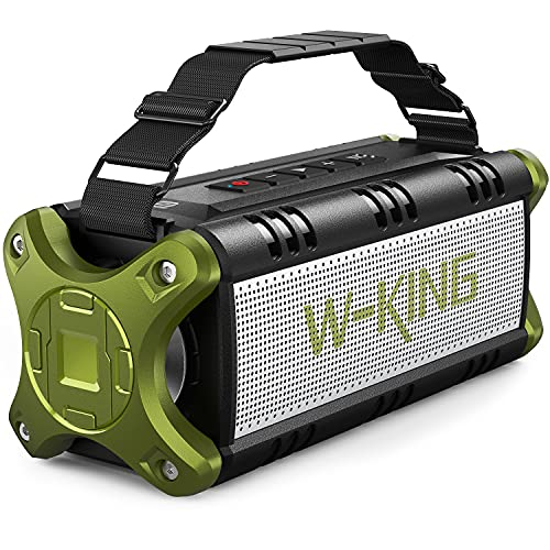 W-KING 50W(70W Gipfel) Bluetooth Lautsprecher IPX6 Wasserdicht, 24...