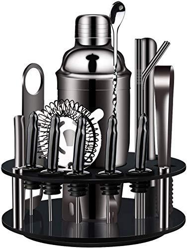 Cocktail-Shaker-Set-Edelstahl-Cocktailshaker Mixing Barkeeper Set...