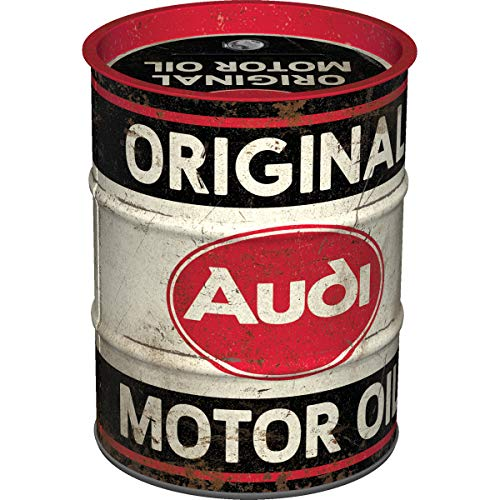 Nostalgic-Art, Retro Spardose, Audi – Motor Oil – Geschenk-Idee...