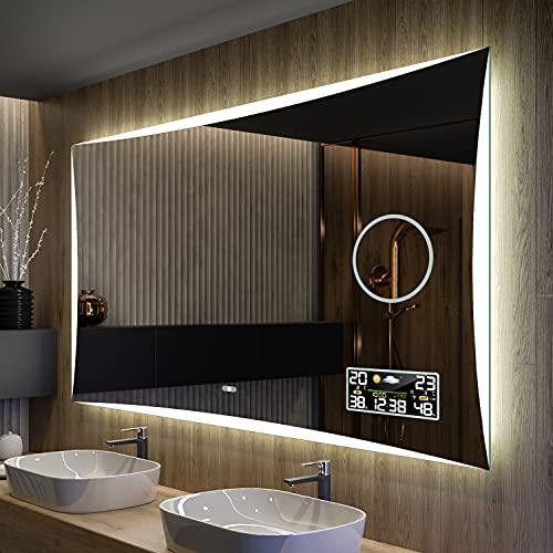 Artforma Badspiegel 120x60 cm mit LED Beleuchtung - Wählen Sie...