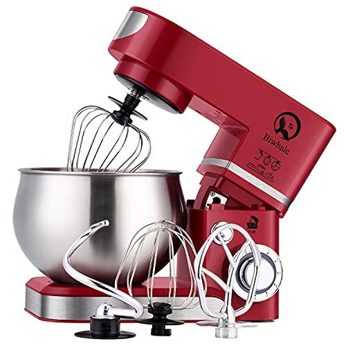 Küchenmaschine 6 Liter 1200WStylish Küchenmixer mit Schüssel,...