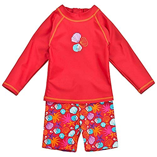 Landora®: Baby- / Kleinkinder-Badebekleidung langärmliges 2er Set in...