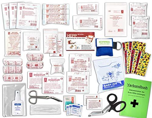 Komplett-Set Erste-Hilfe KITA PLUS 2 DIN/EN 13157 für Betriebe inkl....