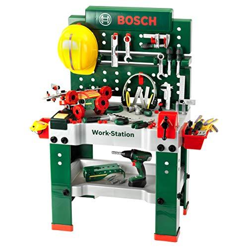 Theo Klein 8485 Bosch Werkbank Nr. 1 I 150-teilig I Inkl....