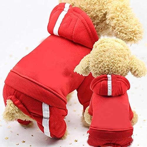 Qiuge 2 stücke Pet Fleece Hundekleidung, Kleidung, grundlegender...