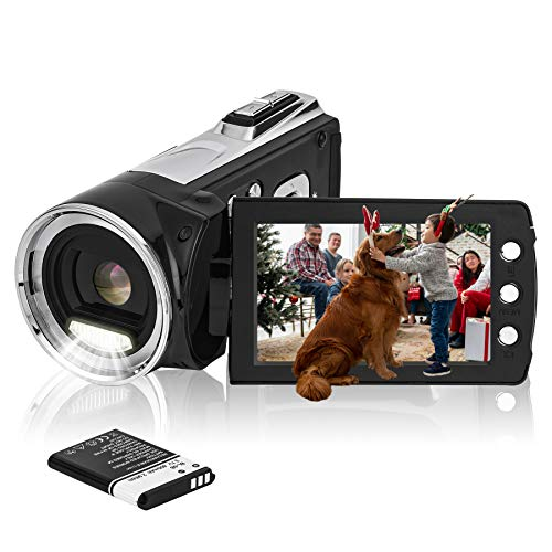 HG8162 Digitale Videokamera 1080P FHD Camcorder 24MP / 2,7' TFT...