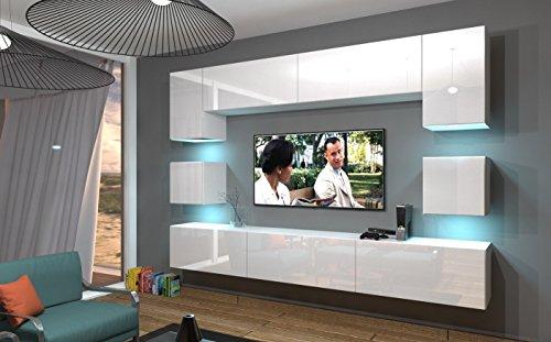 Home Direct NOWARA N1, Modernes Wohnzimmer, Wohnwände, Wohnschränke,...