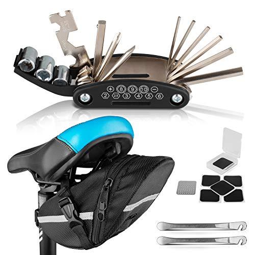 PEPELLIA Multitool Fahrrad Werkzeug [NEU: Metallreifenheber statt...
