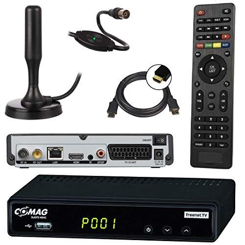 netshop 25 Set: Comag SL65T2 DVB-T2 Receiver (Mit Zugangssystem für...